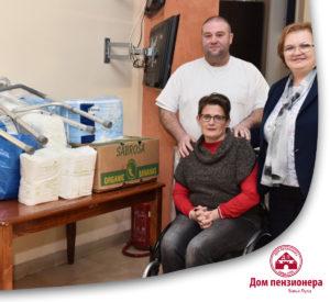 Vrijedna donacija Domu penzionera